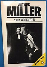 THE CRUCIBLE a Play by Arthur Miller (1976) Penguin SC