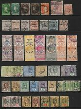 Ceylon - QV-KGVI *USED* Collection multiple high values to 20 RUPEES (CV £1,500)
