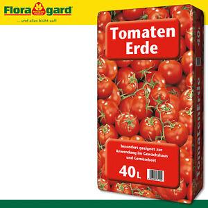 Floragard 40L Tomatenerde Torfreduziert Gemüse Wachstum Paprika Nährstoffe