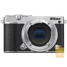NEW BOXED NIKON 1 J5 BODY ONLY DIGITAL CAMERA / SILVER