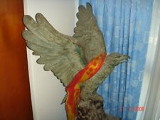 Vintage Eagle Sculpture, Cast Bronze, Nice Touch!