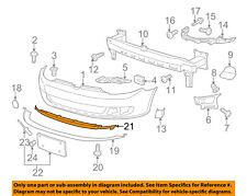 VW VOLKSWAGEN OEM 10-14 Jetta Front Bumper Grille-Retainer 5K0805915A9B9