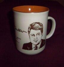 Rare WILLIAM BILL CLINTON Bubba🎷🇺🇸  42 USA President Gov AR Coffee Mug Cup