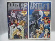 ARIEL : VISUAL.1. 2.-  Japanese  Anime Vintage VHS MEGA RARE
