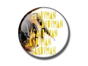 CANDYMAN 25, 38, 59mm badge, magnet, bottle opener, pocket MIRROR 2021 horror