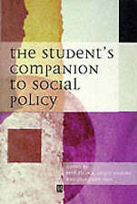The Student's Companion to Social Policy, , New Book