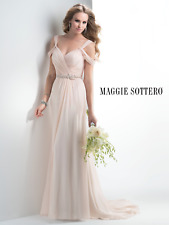 Maggie Sottero wedding Dress JUNE Blush Brand New size 14 NEW PRICE!