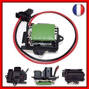 Resistance de chauffage climatisation pour RENAULT TRAFIC 7701050325