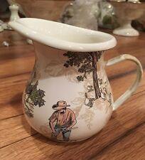 *New* MacKenzie-Childs Retired Aurora creamer small pitcher gravy