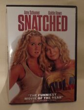 SNATCHED, DVD, SINGLE DISC W/CASE & COVER ARTWORK, GOLDIE HAWN, AMY SCHUMER