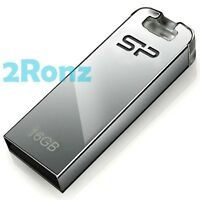 Silicon Power T03 16GB 16G USB Flash Drive Disk Thumb Stick Touch Metal Silver