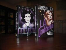 James Ellroy: L. A. Confidential & The Black Dahlia - First Editions in DJs