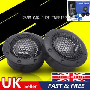 "Alpine Ddt-s30 25mm 1"" 360w Dome Balanced Car Speakers Tweeters Crossovers"