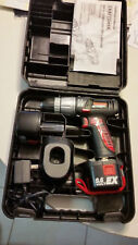 """Craftsman 3/8"""" Cordless Drill-Driver: Reversible & Variable Speed w 2 Batteries"""