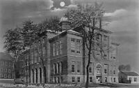 Postcard Kankakee High School by Moonlight in Kankakee, Illinois~122849