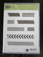 Stampin Up!  Tape It 130715 Set of 8 Stamps New  SH