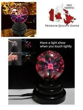 Plasma Ball Lamp Light [Touch Sensitive] Nebula Sphere Globe Novelty Toy