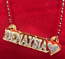 Personalized Name Plate Custom Name Necklace Nameplate Name Laser Cut Designed