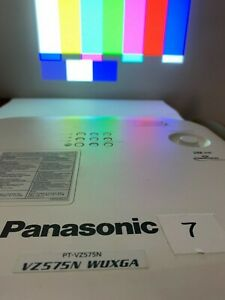 Panasonic PT-VZ575N 4800 Lumens HDMI 1920x1200 Resolution-used 1391 hrs #7