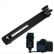 Camera Camcorder Flash Bracket Horizontal Slide Rail Screw Hot Shoe Tripod Mount