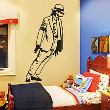 DIY Michael Jackson Dancing Vinyl Wall Decals Removable Sticker Home Room Decor