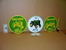 JOHN DEERE Sign Collection -3 For 1 BID - Models H + M + B -*PLUS* FREE SHIPPING