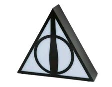 """Harry Potter DEATHLY HALLOWS ACCENT LAMP 7"""" x 8"""" LIGHT UP Novelty NEW NIB"""