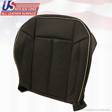 2007 Hummer H3 Driver Side Bottom Replacement Leather Seat Cover Color Black