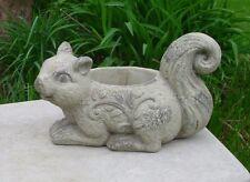 Concrete Mold Squirrel Planter   Latex Rubber Fiberglass