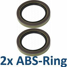 2x ABS-Ring Sensorring 2 ABS Ringe MERCEDES-BENZ