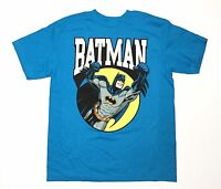 Licensed DC Comics - Batman - Youth Medium Blue T-Shirt - Graphic Tee