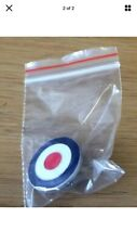 MOD TARGET RAF ROUNDEL QUALITY ENAMEL LAPEL PIN BADGE MEMORABILIA SCOOTER BOY UK