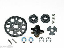 XRA300023  XRAY T4 2017 SPEC 1/10 TOURING CAR 84T SPUR GEAR PULLEY SHAFT SET