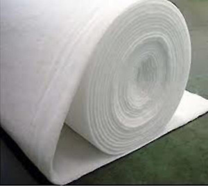 Wadding aka Batting-Fire Retardant Hollow Fibre Polyester 1m wide, 2,4 & 6oz
