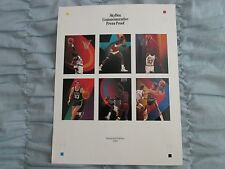 1990/91 Skybox Inaugural Edition NBA Basketball Commemorative Proof Jordan&Bird