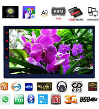 "7"" Android Double Din Car Mp3 Player Stereo With GPS Navigation+3G wifi + Camera"