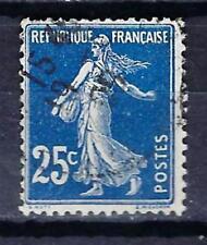 France 1907 type Semeuse fond plein (2) Yvert n° 140b oblitéré 1er choix