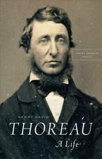 Henry David Thoreau a Life Book | Walls Laura Dassow PB 022659937x BTR