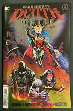 DARK NIGHTS DEATH METAL #1 FOIL ENHANCED CAPULLO BATMAN SUPERMAN WONDER WOMAN