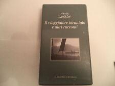 THE ENCHANTED WANDERER by Nikolai Leskov HARDBACK W/ SLIPCASE in Italian