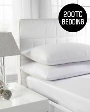 Solid Pattern 100% Cotton Fitted Sheets