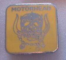 MOTORHEAD enamel Lapel Pin Badge POP MUSIC ROCK HEAVY METAL BAND on chrome