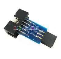 AVRISP USBasp STK500 10pin To 6pin Conversion Adapter Convert Board For Arduino