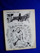 The Comic Artist vol 1 #3: featuring Wallace Wood. US fanzine 1970. Rare.