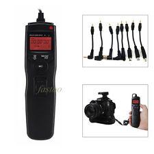 LCD Cable de control remoto temporizador de liberación del obturador cámara Nikon D3100 D7100 MC-DC2 como