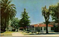 Vtg 1950's The Alameda Motel, San Jose California CA Postcard