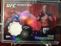 2010 Topps UFC Series 4 Ultimate Gear Relic Gold #30/88 Chris Tuchscherer #UG-CT
