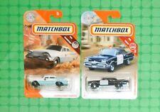 2020/ 2019 Matchbox - '59 Dodge Coronet Police Car - Lot of 2
