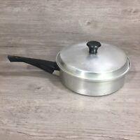 Vintage Mirro Aluminum 3 Egg Poacher  - Mid-Century Cookware