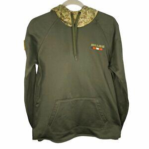 100% Authentic Nike 2017 Salute To Service Hoodie M NFL Sweatshirt Dri On Field